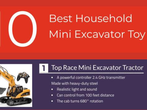 Best Household Mini Excavator Infographic Review